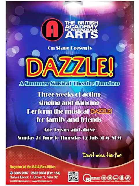Dazzle the musical - international production by British Academy for International Arts